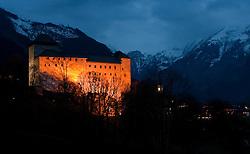 16.04.2010, Burg, Kaprun, AUT, Burg Kaprun im Bild Aufnahme der Burg Kaprun im Pinzgau, die im 11. Jahrhundert erbaut wurde, EXPA Pictures © 2010, PhotoCredit: EXPA/ J. Feichter / SPORTIDA PHOTO AGENCY