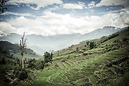 Valley in Thanh Kim Commune, Sapa District, Lao Cai Province, Vietnam, Southeast Asia
