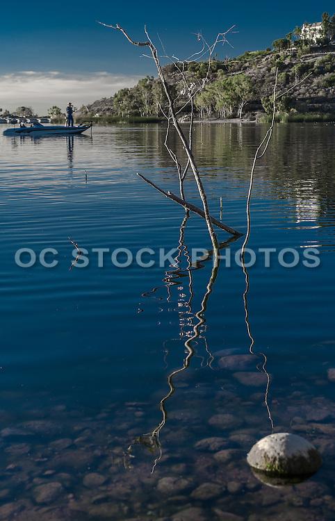 Fishing on Lake Murray in San Diego California