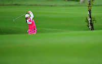 (140306) -- HAIKOU, March 6, 2014 (Xinhua) -- Feng Shanshan of China competes in the 2014 World Ladies Golf Championship in Haikou, capital of south China s Hainan Province, March 6, 2014. A total of 108 golfers around the world participated in the championship.<br /> <br /> Norway only