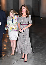 The Duchess of Cambridge attends the V&A Photography Centre Opening at the Victoria and Albert Museum in London on October 10, 2018.