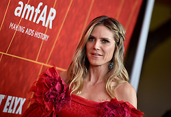 Heidi Klum attends the amfAR Gala Los Angeles 2018 at Wallis Annenberg Center for the Performing Arts on October 18, 2018 in Beverly Hills, CA, USA. Photo by Lionel Hahn/ABACAPRESS.COM