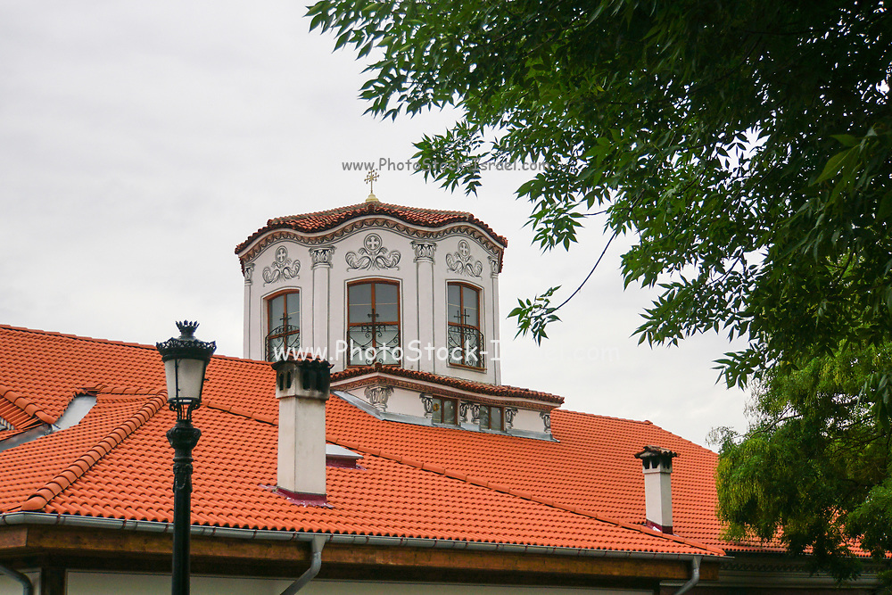 Plovdiv, Bulgaria a building in the Old Town