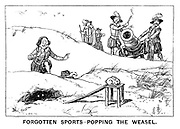 Forgotten Sports - Popping the Weasel.