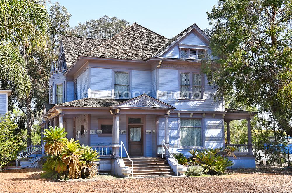 John Maag Farmhouse at the Heritage Museum Santa Ana