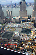 The National September 11 Memorial & Museum (branded as 9/11 Memorial and 9/11 Memorial Museum) is the principal memorial and museum commemorating the September 11 attacks of 2001. located at the World Trade Center site, on the former location of the Twin Towers destroyed during the attacks.