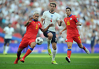 Football - 2022 FIFA World Cup - European Qualifying - Group I - England vs Andorra - Wembley Stadium - Sunday 5th September 2021<br /> <br /> Patrick Bamford of England making his debut with Marc Vales of Andorra<br /> <br /> Credit : COLORSPORT/Andrew Cowie