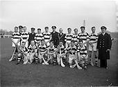 1953 Hurling match: Naval Services v Dublin Port and Docks