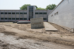 Central High School Bridgeport CT Expansion & Renovate as New. State of CT Project # 015--0174 | Progress Submission 04 Exterior 27 May 2015