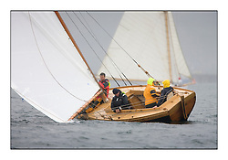 Ayrshire Lass 1887 Gaff Cutter ..Sunday race from Largs to Rhu started damp but briefly lifted for a downwind race to the upper Clyde...* The Fife Yachts are one of the world's most prestigious group of Classic .yachts and this will be the third private regatta following the success of the 98, .and 03 events.  .A pilgrimage to their birthplace of these historic yachts, the 'Stradivarius' of .sail, from Scotland's pre-eminent yacht designer and builder, William Fife III, .on the Clyde 20th -27th June.   . ..More information is available on the website: www.fiferegatta.com . .Press office contact: 01475 689100         Lynda Melvin or Paul Jeffes