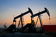 The 1200-acre Inglewood Oil Field located in the Baldwin Hills area is the largest urban oil field in the United States and is surrounded by over 300 homes in the communities of Culver City, Baldwin Hills, Inglewood and Los Angeles. Plains Exploration and Production Co.(PXP), the owner and operator of the oil field, has recently begun the controversial practive of Fracking. Los Angeles, California, USA