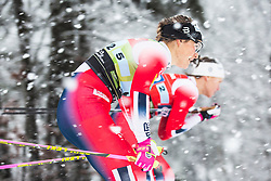 Mari Eide (NOR) during the ladies team sprint race at FIS Cross Country World Cup Planica 2019, on December 22, 2019 at Planica, Slovenia. Photo By Peter Podobnik / Sportida
