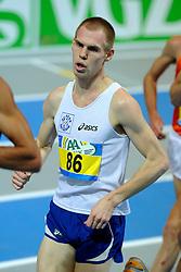 07-02-2010 ATLETIEK: NK INDOOR: APELDOORN<br /> Nederlands kampioen 3000 meter Gert Jan Wassink<br /> ©2010-WWW.FOTOHOOGENDOORN.NL