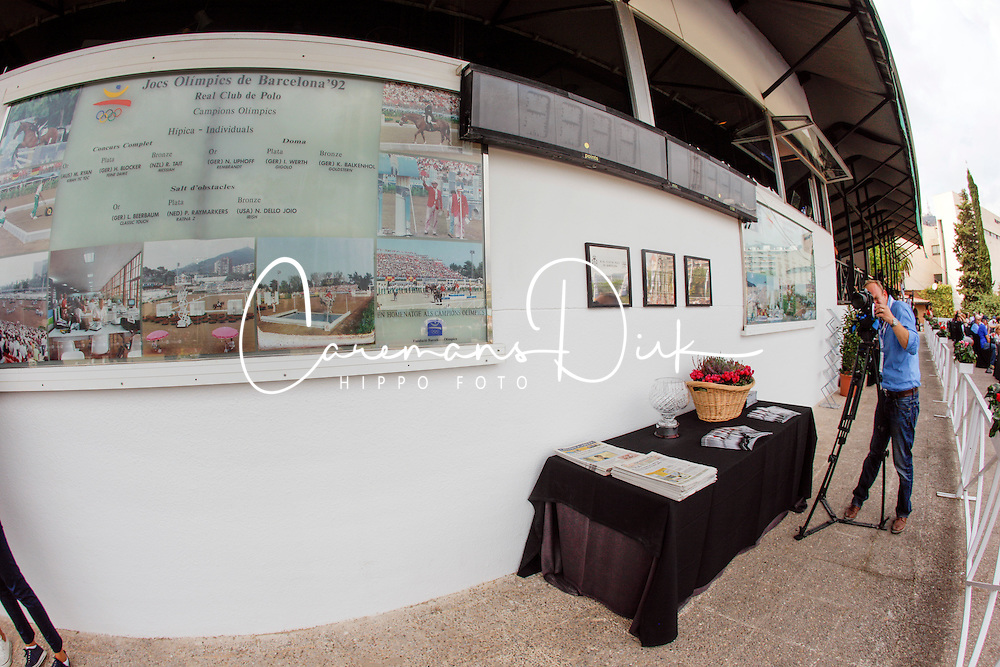 Wall of fame Barcelona Olympics 1992<br /> Team consolation competition<br /> Furusiyya FEI Nations Cup Jumping Final<br /> CSIO Barcelona 2013<br /> © Dirk Caremans