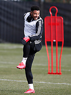 Lys Mousset of Sheffield Utd during a training session at the Steelphalt Academy, Sheffield. Picture date: 5th March 2020. Picture credit should read: Simon Bellis/Sportimage