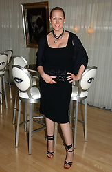 AMY SACCO at a party to celebrate the launch of her book 'Cocktails' held at Sanderson, 50 Berners Street, London W1 on 10th July 2006.<br />