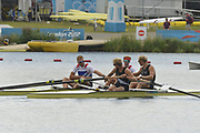 Eton Dorney, Windsor, Great Britain,<br /> <br /> 2012 London Olympic Regatta, Dorney Lake. Eton Rowing Centre, Berkshire.  Dorney Lake.   <br /> <br /> Final, Men's Pair GBR M2- Bow George NASH and Will SATCH and NZL M2-, Bow Eric MURRAY and Hamish BOND<br /> <br />  11:56:47  {DOW]  {DATE}    [Mandatory Credit: Peter Spurrier/Intersport Images]