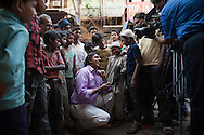 CLIENT: AL JAZEERA<br /> <br /> Al Jazeera anchor Sohail Rahman in New Delhi, India.