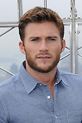 April 9, 2015 - New York, NY, USA - April 9, 2015 <br /> <br /> The Longest Ride at the Empire State Building<br /> <br /> Scott Eastwood from the movie ''The Longest Ride'' at the Empire State Building observatory on April 9, 2015 in New York City<br /> ©Exclusivepix Media