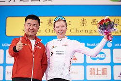 Lorena Wiebes (NED) leads the youth classifcation at Tour of Chongming Island 2019 - Stage 1, a 102.7 km road race on Chongming Island, China on May 9, 2019. Photo by Sean Robinson/velofocus.com
