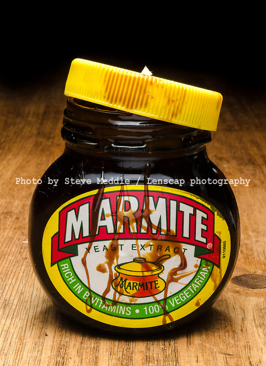 London, England - June 09, 2017: Jar of Marmite, Marmite is made by Unilever and first launched in 1902.