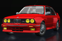 BMW has many sporty models and the BMW M3 is legendary among BMW enthusiasts. The BMW M3 from the 90's looks very ordinary but nothing could be further from the truth; The BMW M3, here the BMW E-30 M from 1991, is a racing monster.