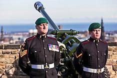 21 Gun Salute | Edinburgh Castle | 6 February 2017