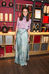 ROSANNA FALCONER at the launch of La Maison Remy Martin pop-up private members club at 19 Greek Street, Soho, London on 2nd November 2015.