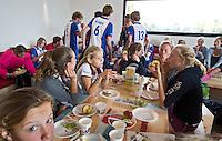 ZWOLLE - HC ZWOLLE - team van Hattem.  FOTO KOEN SUYK