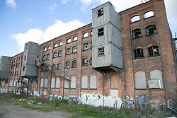 James Alexander Warehouse; a derelict building in the city of Nottingham; part of Island Street redevelopment site,