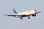 Delta Airlines commercial flight