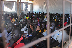 Out of 80,000 children, 23,000 are enrolled in the schools and due to lack of funding there are not enough resources to educate all refugee children. BidiBidi settlement in Northern Uganda, is now the third largest refugee settlement in the world. It currently holds more than 210,000 South Sudanese refugees escaping from war, and the ongoing influx of a daily average of 3,000 refugees is causing a strain on humanitarian aid and funding.