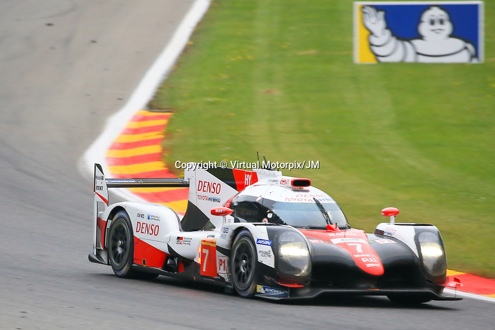 #7, Toyota Gazoo Racing Toyota TS050 Hybrid, driven by, Mike Conway, Kamui Kobayashi, FIA WEC 6hrs of Spa 2017, 06/05/2017,