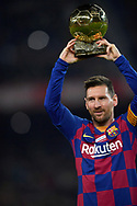 Leo Messi of FC Barcelona  during the sixteen round match of the La Liga 2019-2020 season between FC BARCELONA and RCD MALLORCA at CAMP NOU STADIUM in Barcelona, Spain.December 7, 2019