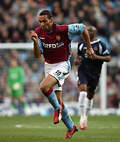 Photo: Rich Eaton.<br /> <br /> Aston Villa v West Ham. The Barclays Premiership. 03/02/2007. John Carew of Aston Villa who scored on his debut to make the score 1-0