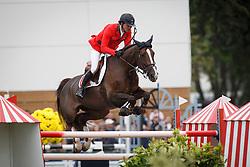 Duguet Romain, (FRA), Quorida de Treho<br /> Furusiyya FEI Nations Cup presented by Longines<br /> Longines Jumping International de La Baule 2015<br /> © Hippo Foto - Dirk Caremans<br /> 15/05/15
