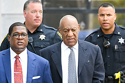 August 22, 2017 - Norristown, Pennsylvania, U.S - ANDREW WYATT and BILL COSBY leave the Court House after a pre-trail hearing in Montgomery County PA (Credit Image: © Ricky Fitchett via ZUMA Wire)