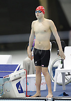Paralympics London 2012 - ParalympicsGB - Swimming held at the Aquatics Centre  31st August 2012<br />   <br /> Oliver Hynd competes in the Men's 400m Freestyle - S8 Heat 2 at the Paralympic Games in London. Photo: Richard Washbrooke/ParalympicsGB)