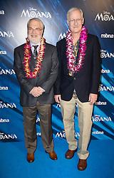 'Moana' gala film screening, London, UK. 20 Nov 2016 Pictured: Directors John Musker , Ron Clements. Photo credit: MEGA TheMegaAgency.com +1 888 505 6342