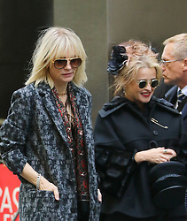 October 26, 2016 - New York, New York, United States - Actors Cate Blanchett (L) and Helena Bonham Carter were on the set of the new movie 'Ocean's Eight' on October 26 2016 in New York City  (Credit Image: © Zelig Shaul/Ace Pictures via ZUMA Press)