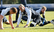 Picture by Andrew Tobin/Focus Images Ltd +44 7710 761829.08/02/2013.James Haskell of England during Training at Pennyhill Park, Bagshot.