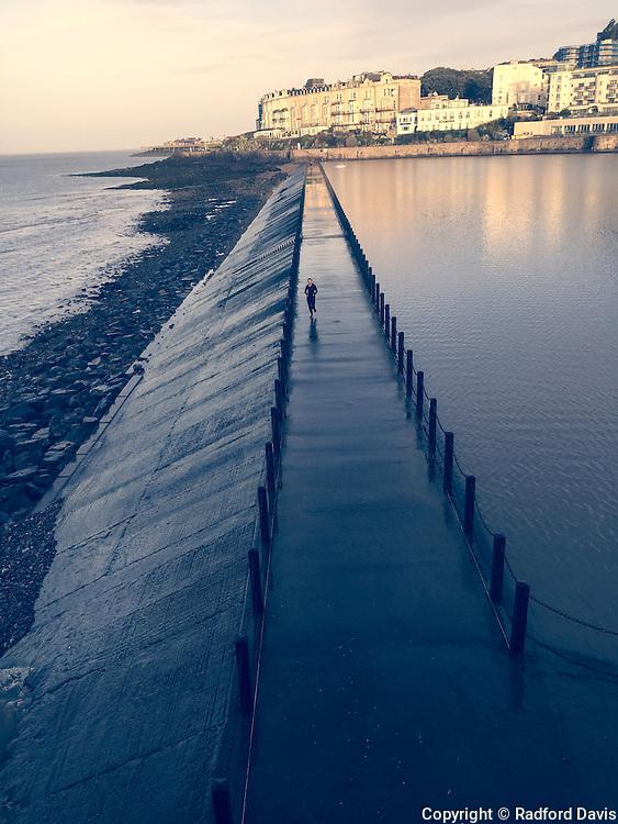 Runner, Weston-super-Mare, England