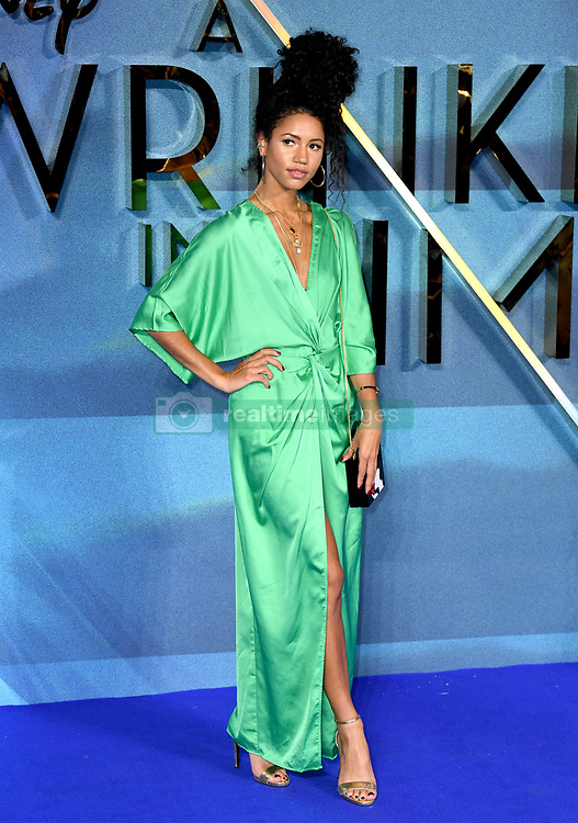 Vick Hope attending the A Wrinkle in Time European Premiere held at the BFI IMAX in Waterloo, London. Photo credit should read: Doug Peters/EMPICS Entertainment
