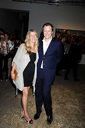 TOM & SARA PARKER BOWLES at the Quintessentailly Summer Party at the Phillips de Pury Gallery, 9 Howick Place, London on 9th July 2008.<br /><br />NON EXCLUSIVE - WORLD RIGHTS