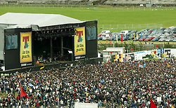 T in the Park, July 11, 2004..©Michael Schofield..