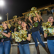 Nikki Rowe High School Tiara dance team members Brianna Bradford, left, Nicole Tamez and Mia Del Monte dance during a playoff football pep rally in McAllen, Texas. Nathan Lambrecht/Journal Communications