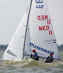 08_003127 © Sander van der Borch. Medemblik - The Netherlands,  May 24th 2008 . Day 4 of the Delta Lloyd Regatta 2008.