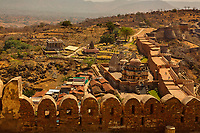 kumbhalgarh Fort near ranakpur in rajasthan state in india