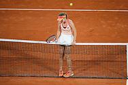 Sofia KENIN (USA) during the Roland Garros 2020, Grand Slam tennis tournament, on October 5, 2020 at Roland Garros stadium in Paris, France - Photo Stephane Allaman / ProSportsImages / DPPI