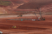 Jeceaba_MG, Brasil..Construcao de uma usina siderurgica em Jeceaba...The construction of the steel industry in Jeceaba...Foto: VICTOR SCHWANER / NITRO